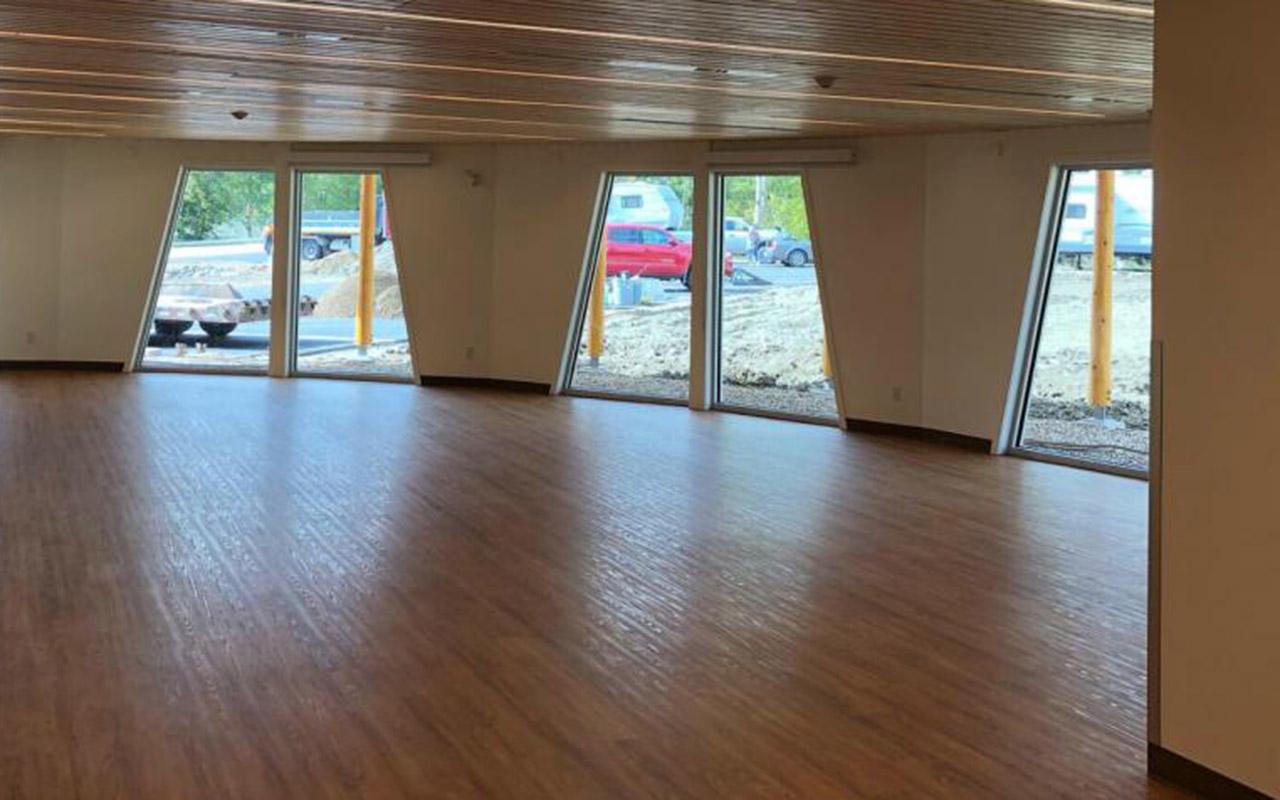 New Daycare Facility -window