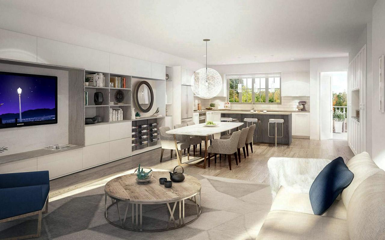 Ruxton Village Development-interior