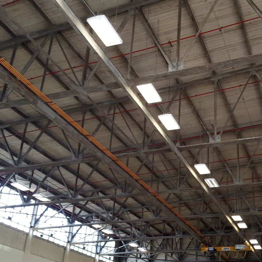 Insitutue of Ocean Studies Hanger Development Roof
